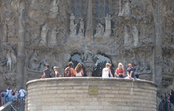 Catalunya lidera la llegada de turistas internacionales hasta julio con 10 millones, un 4,7% más