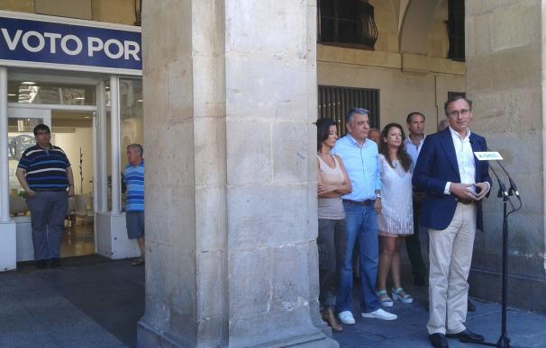 """Alonso dice que """"ningún obstáculo es insalvable"""" en la negociación con Ciudadanos, siempre que haya """"voluntad política"""""""