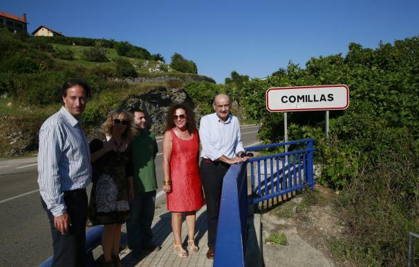 Comillas y Ruiloba estarán unidas por un paseo peatonal costero el próximo verano