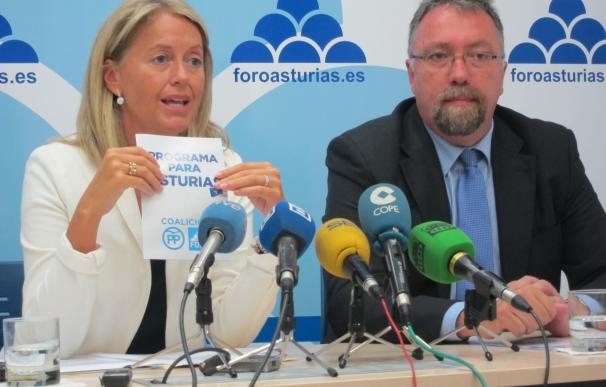 Foro respeta el pacto con C's siempre que el PP cumpla con su acuerdo electoral en Asturias