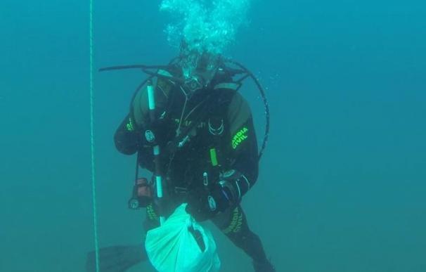 Los primeros restos óseos humanos hallados en el mar en Calpe podrían llevar enterrados 40 años