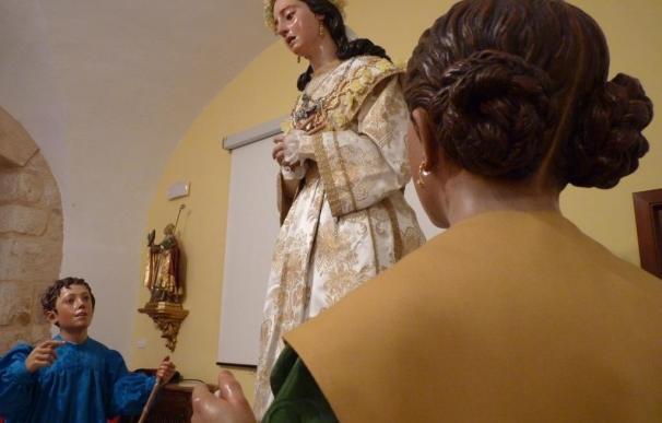 La Virgen de la Saleta de Ramón Álvarez recupera su aspecto de 1870 y regresa a San Andrés (Zamora)