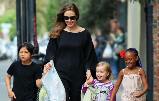 Angelina Jolie dejará la actuación cuando crezcan sus hijos