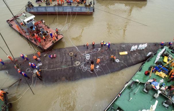 China cifra en 442 los muertos en el naufragio en el Yangtsé en su balance final de víctimas