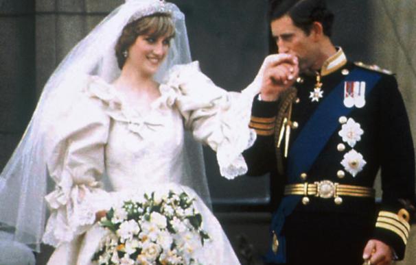 Todos los secretos del vestido de novia de Lady Di