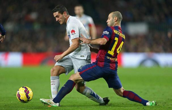 Mascherano, el 'jefecito' del Barça