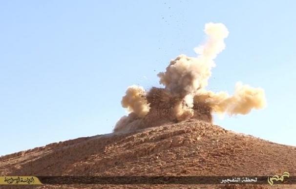 El Estado Islámico vuela dos santuarios en Palmira