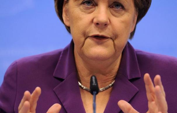 La canciller Merkel, personalidad del año de la prensa económica alemana