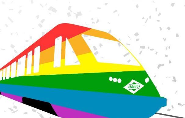 Un total de 300 carteles por la red de Metro de Madrid fomentarán el respeto a la comunidad LGTB
