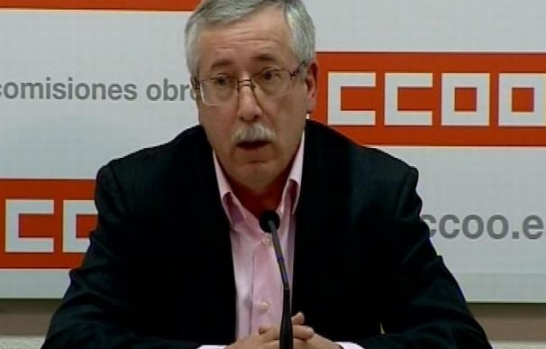 """Toxo dice que """"es el momento"""" de que Rajoy convoque la mesa del diálogo social para explicar """"sus objetivos"""""""