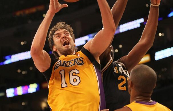 Los Lakers se estrenan esta temporada de la mano de Pau Gasol