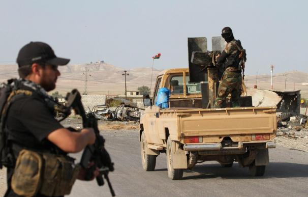El EI difunde un vídeo con la decapitación de un supuesto espía sirio de Jordania