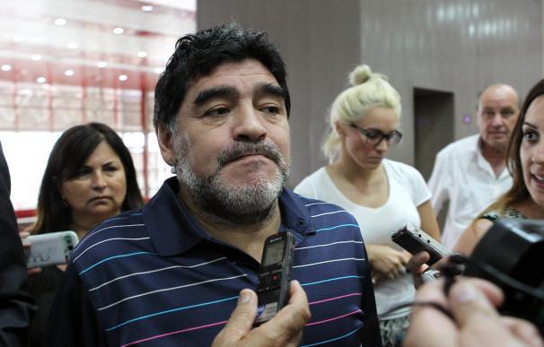Estudian juzgar a Maradona por la vía penal por difamar al fisco italiano