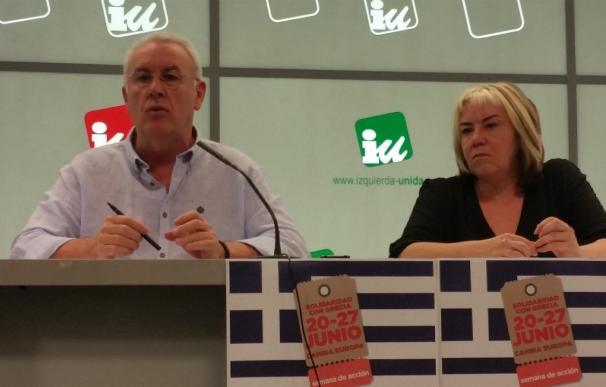 """Cayo Lara acusa a Pablo Iglesias de querer """"dinamitar"""" la unidad popular y reivindica la historia de IU"""