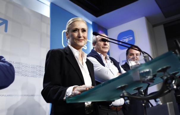 La candidata del PP a la Comunidad de Madrid, Cristina Cifuentes.