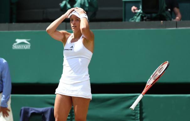 Kerber se queda a una victoria de coronarse como número uno del ranking de la WTA