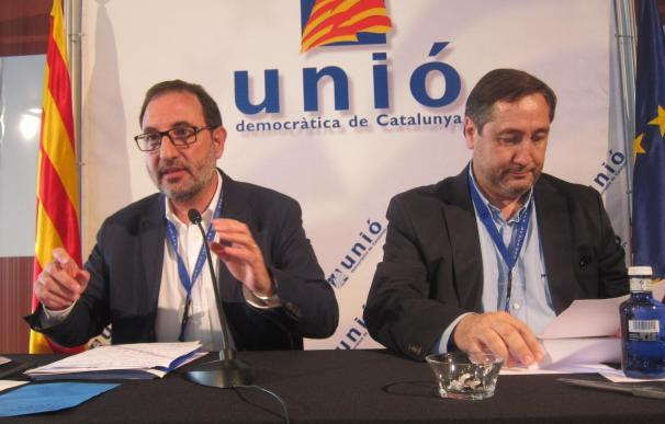 """UDC aprueba por mayoría ir al 27S en solitario y buscará el electorado """"moderado"""" de CiU"""
