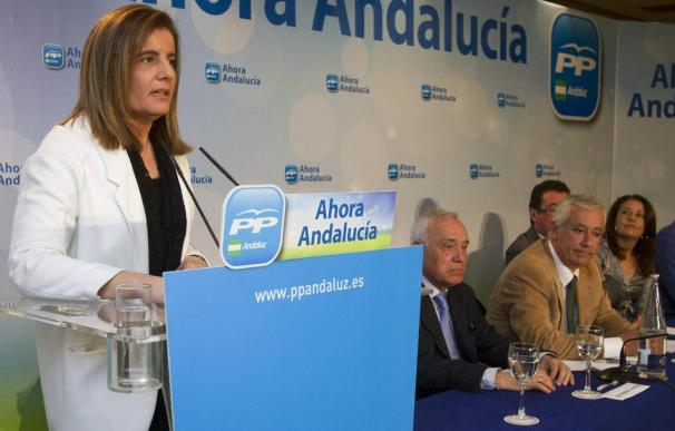 """La ministra de Empleo dice que """"han dejado un país en la ruina económica y social"""""""