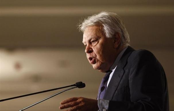 El expresidente del Gobierno, Felipe González.