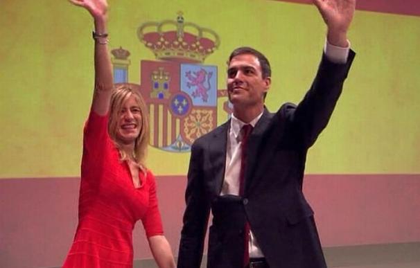 """El PSdeG se pregunta """"qué bandera iba a exhibir"""" un partido que incluye la palabra """"español"""" en sus siglas"""