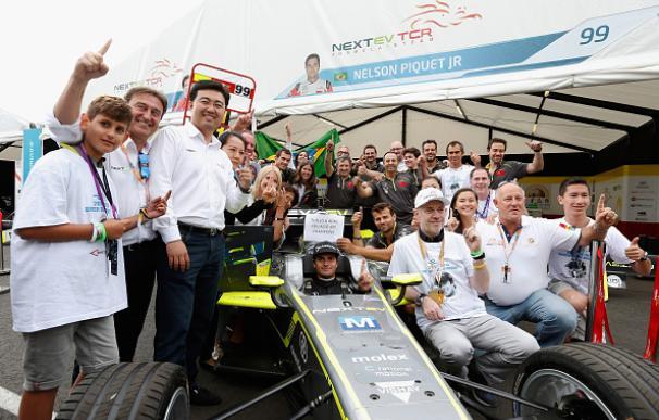 Nelson Piquet se proclama primer campeón de la Fórmula E