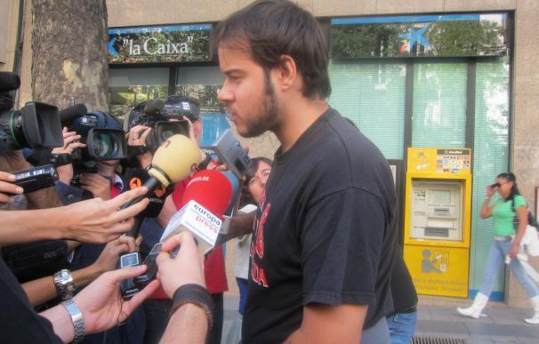 El rapero Pablo Hasel, citado como investigado por tuits contra la Corona y de apoyo al GRAPO