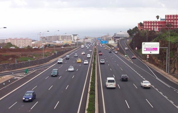 El Cabildo de Tenerife destina 11 millones de euros a obras de mejora en las autopistas TF-1 y TF-2