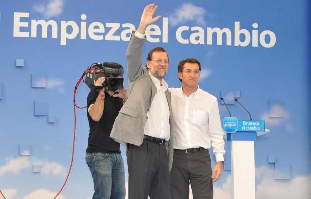"""Feijóo reivindica su """"lealtad"""" a Rajoy tras reclamar que la autocrítica en el PP no se quede """"en palabras"""""""