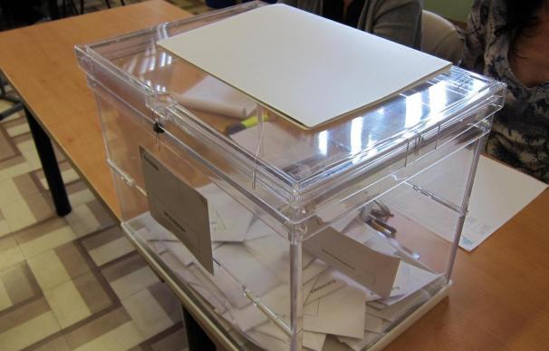 Urna electoral (archivo).