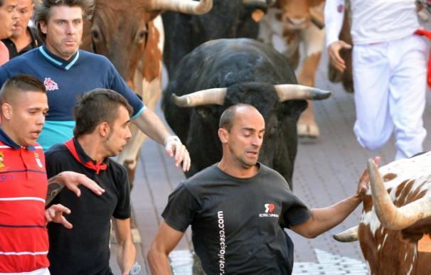 Finalizan los encierros con 37 heridos leves, 2 por asta de toro y alrededor de 13.300 corredores