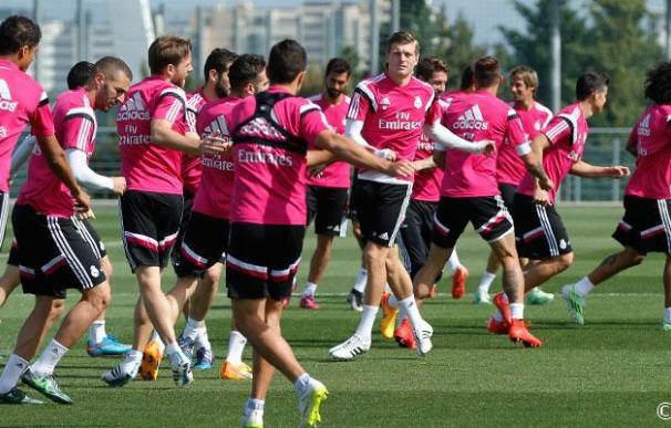 El alemán es duda para el partido contra la Juventus.