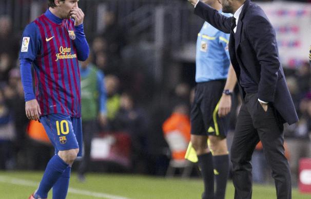 Guardiola se la juega ante un Messi imparable.