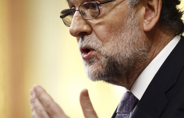 """(27) Rajoy cierra el debate garantizando que seguirá """"en la batalla"""", pensando sólo en el """"interés general"""""""