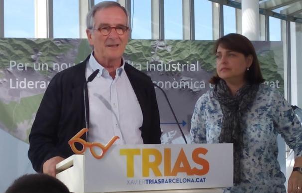"""Trias (CiU) lamenta los """"insultos y crispación"""" de Colau"""