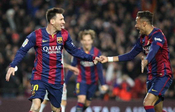 Messi ha vuelto a su mejor nivel con Luis Enrique.