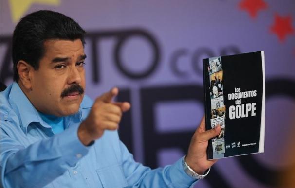 El presidente de Venezuela, Nicolás Maduro, ayer.