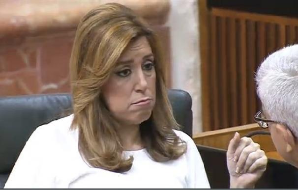 La presidenta de la Junta en funciones, Susana Díaz.