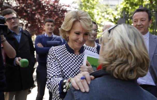 Manuela Carmena podría ser la nueva alcaldesa.