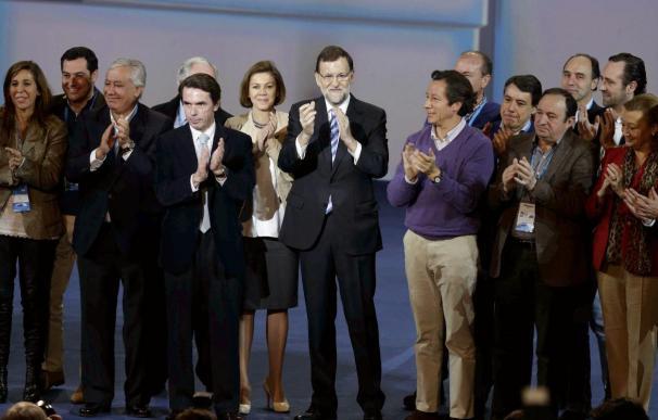 """Rajoy promete """"no cejar hasta hacer justicia"""" a las víctimas del terrorismo"""