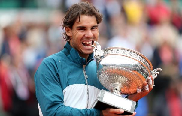 Rafa Nadal, campeón de Roland Garros.