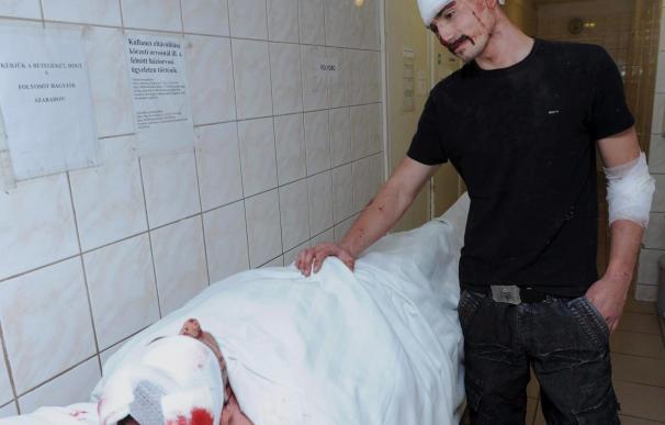 Cuatro heridos en una pelea entre gitanos y ultraderechistas en Hungría