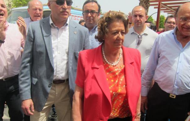 La alcaldesa de Valencia, Rita Barberá (archivo).