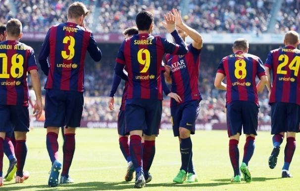 El Barcelona, flamante campeón de Liga BBVA.