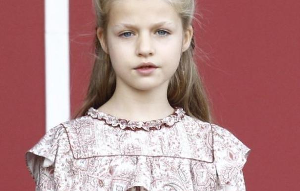 La Princesa de Asturias recibirá hoy la Primera Comunión junto a sus compañeros de clase