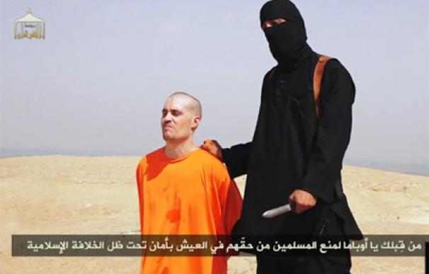 Vídeo difundido por el IS en el que aparece la ejecución de Foley.