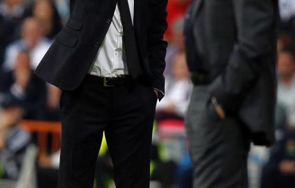 """Mourinho desea a Guardiola """"que un día gane una Champions blanca, sin incidentes"""""""