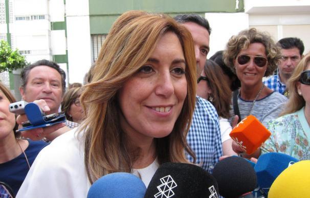 """Díaz: """"En Andalucía no se va a dejar a nadie en la puerta de un hospital porque no tenga papeles"""""""