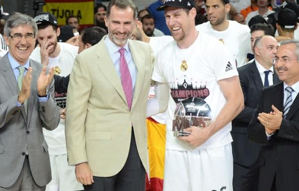 El Rey se rinde a la victoria del Real Madrid