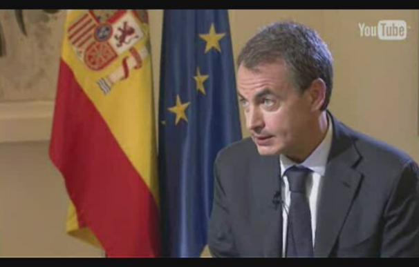 La economía protagoniza la entrevista a Zapatero en Youtube
