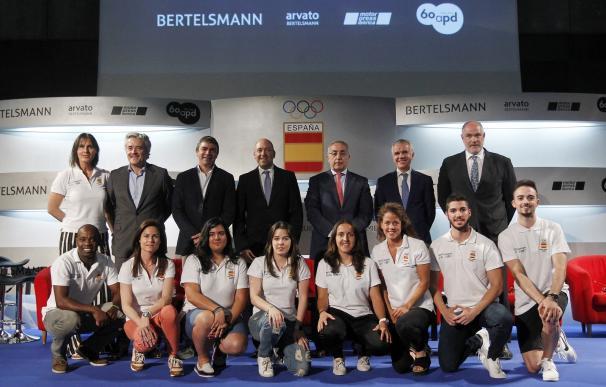 COE y el Grupo Bertelsmann unen deporte y empresa para alcanzar el éxito